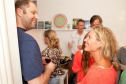 Opening Pure Offices Amsterdam | Martijn Boomsma (The Secret Lab) and Femke Schut
