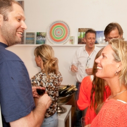 Opening Pure Offices Amsterdam | Martijn Boomsma (The Secret Lab) and Femke Schut