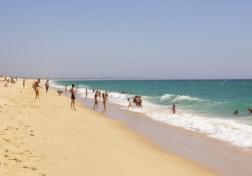 Comporta's Stretch of White Sandy Beach