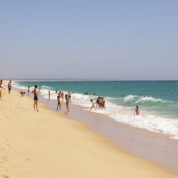 Comporta's Stretch of White Sandy Beach